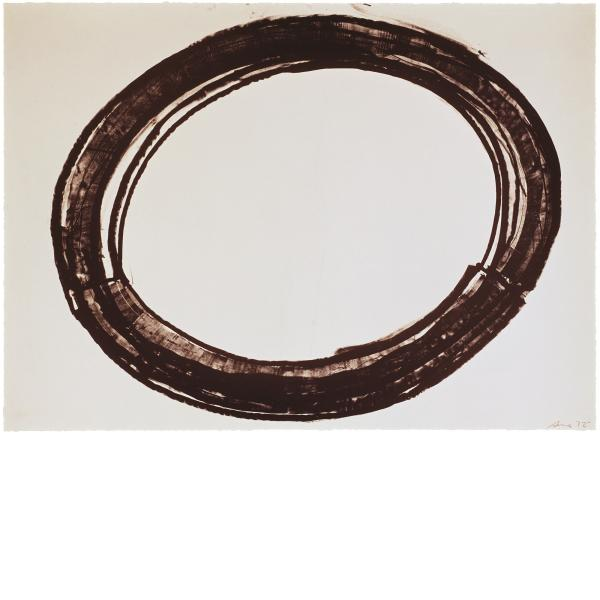 Richard Serra, Double Ring II, 1972
