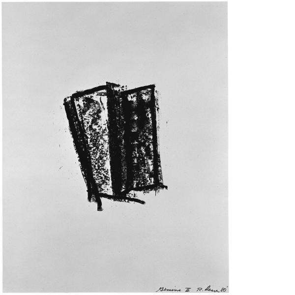 Richard Serra, Sketch 4, 1981