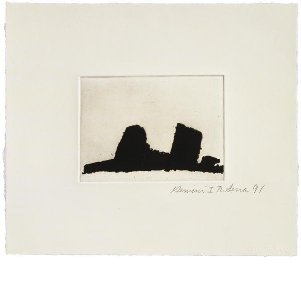 Richard Serra, Videy Afangar #2, 1991