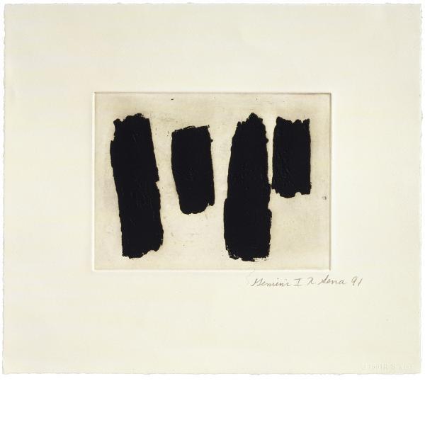 Richard Serra, Videy Afangar #8, 1991