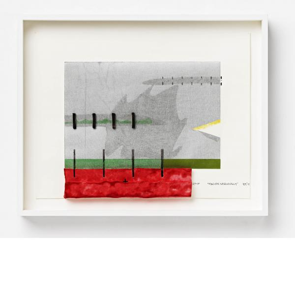 """Richard Tuttle, """"Pacific Seriously"""", 2012"""