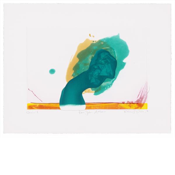"""Richard Tuttle, """"For John Altoon"""", 2011"""