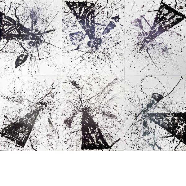 Sam Francis, Living in Our Own Light, 1977