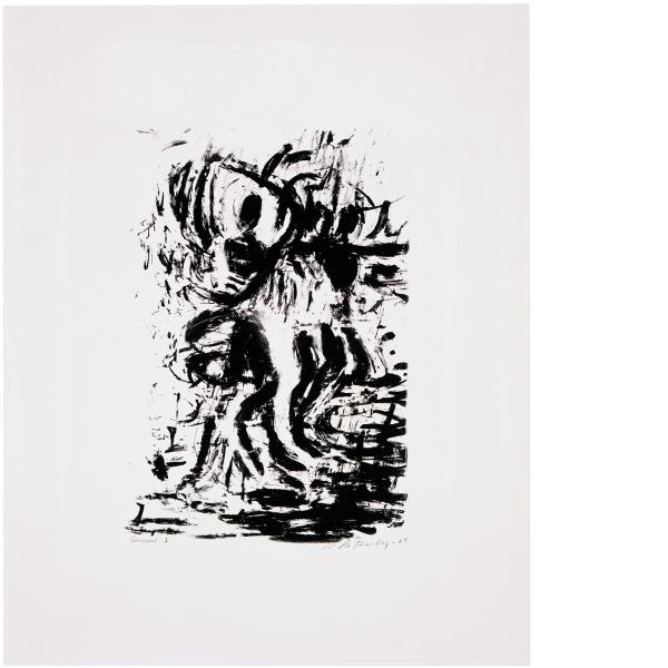 Susan Rothenberg, Spinning (State), 2006