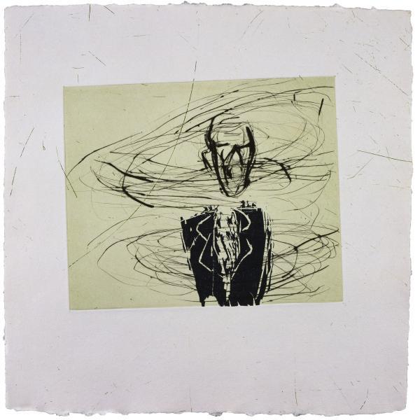 Susan Rothenberg, Breath-Man, 1986