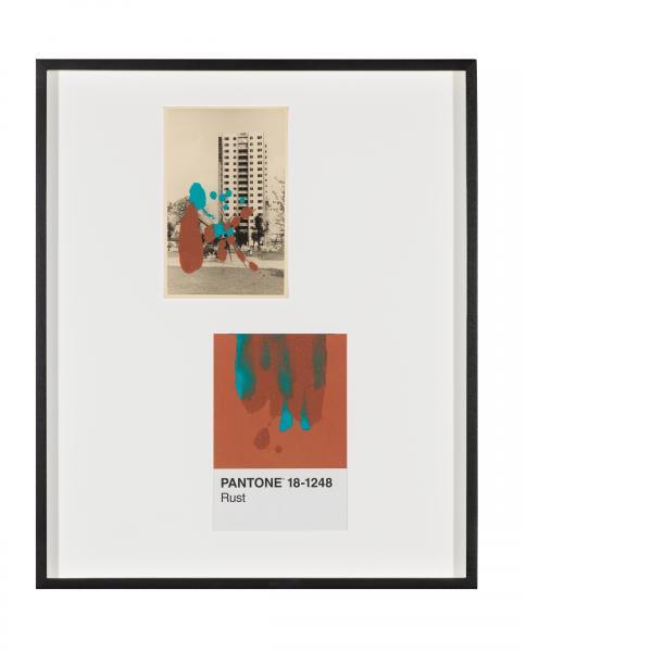 Tacita Dean, Pantone Pair (Rust), 2019