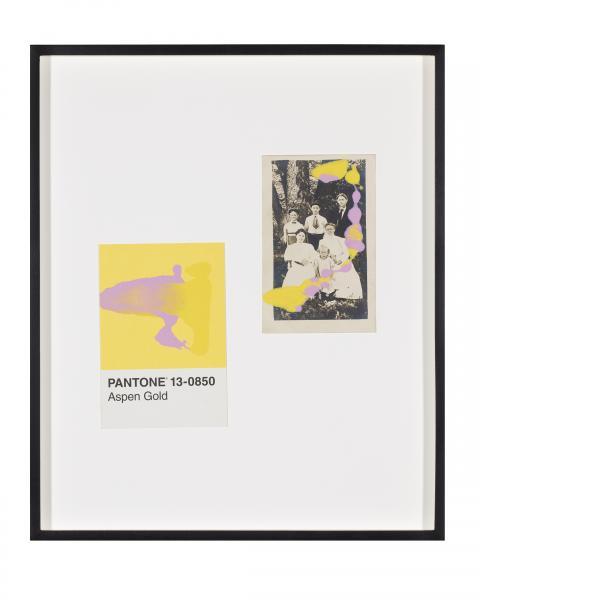 Tacita Dean, Pantone Pair (Aspen Gold), 2019