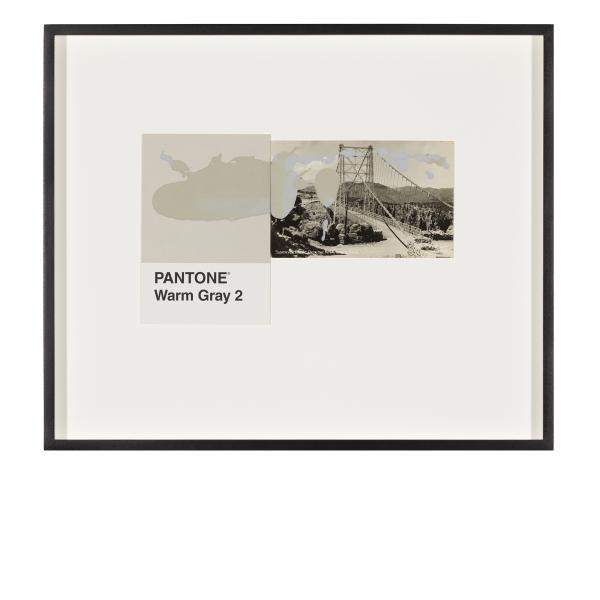 Tacita Dean, Pantone Pair (Warm Gray 2), 2020