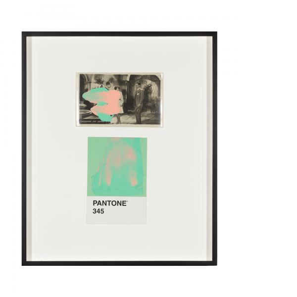 Tacita Dean, Pantone Pair (345), 2020
