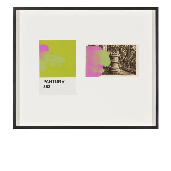 Tacita Dean, Pantone Pair (383), 2019