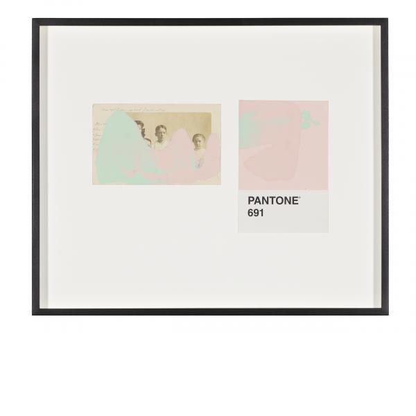 Tacita Dean, Pantone Pair (691), 2019
