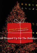 All Wrapped up for the Holidays Announcement Card