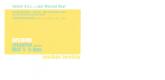 Jonathan Borofsky Male/Female Announcement Card