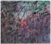 Julie Mehretu, Conjured Parts (eye), Ferguson, 2016