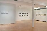 Frank Stella, Black Series II, 1967; Copper Series, 1970