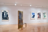 Robert Rauschenberg, Bellini #4, 1988; Borealis Share II, 1990; Tides, 1969; Drifts, 1969; Gulf, 1969.