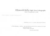 Ellsworth Kelly 2000 Announcement Card
