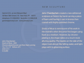 New Editioned Sculpture Announcement Card