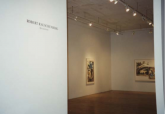Left to right: Robert Rauschenberg, Recourse (Speculations), 1995; Source (Speculations), 1996