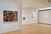 Sophie Calle, Tapis de Fleurs, 2014; Vija Celmins, Night Sky 2 (Reversed), 2002; Untitled (Web 3), 2002; Robert Gober, Untitled, 2002; Ellsworth Kelly, Philodendron 1, 1984