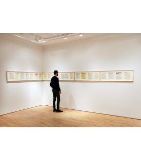 Allen Ruppersberg, Great Speckled Bird, 2013, Installation View