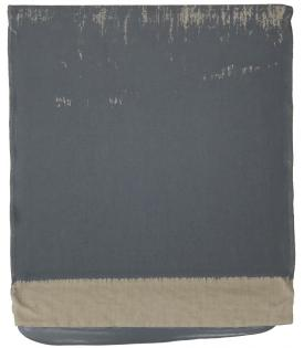Analia Saban, Pressed Paint (Middle Gray), 2017