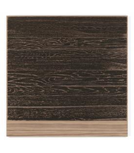 Analia Saban, Wooden Floor On Wood (Horizontal), 2017