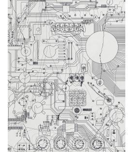 Analia Saban, Circuit Board #2, 2021