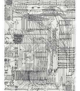 Analia Saban, Circuit Board #6, 2021