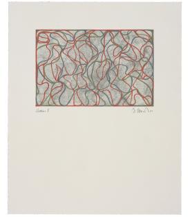 Brice Marden, Distant Muses, 2000