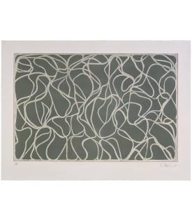 Brice Marden, Greyer Muses, 2001