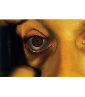Bruce Nauman, Opened Eye from Infrared Outtakes 2006