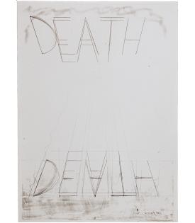 Bruce Nauman, Eat Death 1973