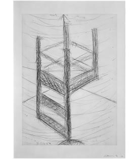 Bruce Nauman, Suspended Chair, 1985