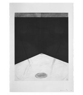 Bruce Nauman, Floor Drain, 1985