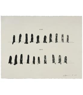 Bruce Nauman, Verso Recto (State II), 1998