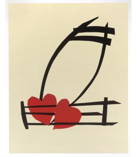 Claes Oldenburg, Musical Hearts, 2012
