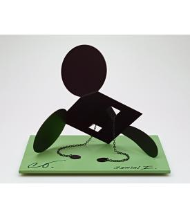 "Claes Oldenburg, Geometric Mouse, Scale E, ""Desktop"", 2013"