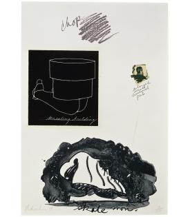 Claes Oldenburg, Notes (Kneeling Building), 1968