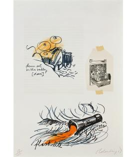 Claes Oldenburg, Notes (Drum Set), 1968