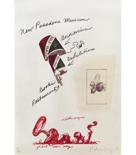 Claes Oldenburg, Notes (New Pasadena Museum), 1968