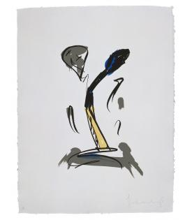 Claes Oldenburg, Extinguished Match, 1990