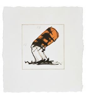 Claes Oldenburg, Butt for Gantt, 1990