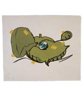 Claes Oldenburg, Perfume Atomizer, on a Pillow, 1997
