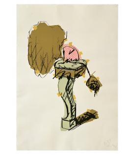 Claes Oldenburg, Perfume Atomizer, On a Chair Leg, 1997