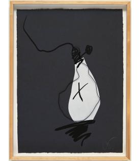 Claes Oldenburg, Hard Times Bulb - Night, 1995