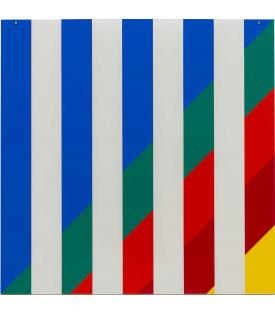 Daniel Buren On Transparency: Situated Mylars I, 2017/19