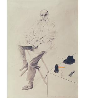 David Hockney, Billy Wilder, 1976