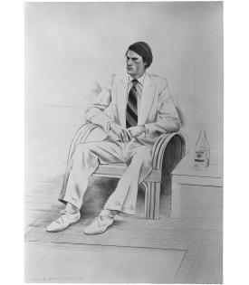David Hockney, Joe McDonald, 1976