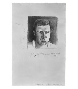 David Hockney, Don Cribb, 1976
